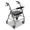 DMi Ultra Lightweight Rollator, Titanium, Aluminum, Adjustable