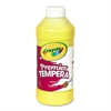 Crayola Premier Tempera Paint, Yellow, 16 oz