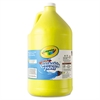 Crayola Washable Paint, Yellow, 1 gal