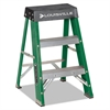 #624 Folding Fiberglass Locking 2-Step Stool, 17w x 22 Spread x 24h