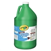 Crayola Washable Paint, Green, 1 gal