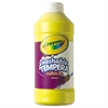 Crayola Artista II Washable Tempera Paint, Yellow, 16 oz