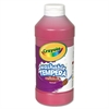 Crayola Artista II Washable Tempera Paint, Red, 16 oz