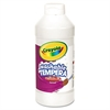 Crayola Artista II Washable Tempera Paint, White, 16 oz