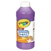 Crayola Washable Fingerpaint, Violet, 16 oz
