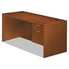 Valido 11500 Series Right Pedestal Desk, 66w x 30d x 29 1/2h, Bourbon Cherry