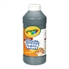 Crayola Washable Fingerpaint, Black, 16 oz