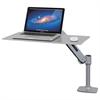 Ergotron WorkFit-P Sit-Stand Workstation, 24w x 16d x 20h, Platinum Silver