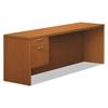 HON Valido 11500 Series Left Pedestal Credenza, 72w x 24d x 29-1/2h, Bourbon Cherry
