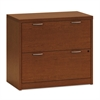 Valido 11500 Series Two-Drawer Lateral File, 36w x 20d x 29 1/2h, Bourbon Cherry