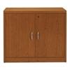 HON 11500 Series Valido Storage Cabinet w/Doors, 36w x 20d x 29-1/2h, Bourbon Cherry