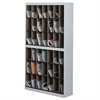 Mayline Kwik-File Vertipocket Vertical Sorter, 42 Pkt, 37 3/4 x 12 3/4 x 71, Pebble Gray