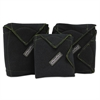 Wrap, 1 Small, 2 Medium, Black