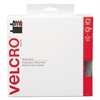 Velcro Sticky-Back Hook and Loop Fasteners in Dispenser, 3/4 Inch x 30 ft. Roll, White