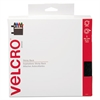 Velcro Sticky-Back Hook and Loop Fasteners in Dispenser, 3/4 Inch x 30 ft. Roll, Black