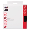 Velcro Sticky-Back Hook and Loop Fastener Tape with Dispenser, 3/4 x 15 ft. Roll, Black