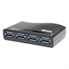 Tripp Lite 4-Port USB 3.0 SuperSpeed Hub, Black
