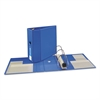 """Avery Heavy-Duty Binder with One Touch EZD Rings, 11 x 8 1/2, 5"""" Capacity, Blue"""