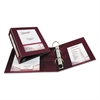 "Avery Framed View Heavy-Duty Binder w/Locking 1-Touch EZD Rings, 3"" Cap, Maroon"