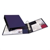 "Avery Heavy-Duty Binder with One Touch EZD Rings, 11 x 8 1/2, 2"" Capacity, Navy Blue"