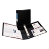 "Avery Heavy-Duty Binder with One Touch EZD Rings, 11 x 8 1/2, 1 1/2"" Capacity, Black"
