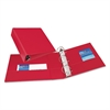 """Avery Durable Binder with Slant Rings, 11 x 8 1/2, 3"""", Red"""