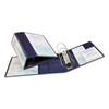 "Avery Heavy-Duty View Binder w/Locking 1-Touch EZD Rings, 5"" Cap, Navy Blue"
