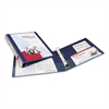 "Avery Heavy-Duty View Binder w/Locking 1-Touch EZD Rings, 1"" Cap, Navy Blue"