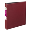 "Avery Durable Binder with Slant Rings, 11 x 8 1/2, 1 1/2"", Burgundy"