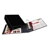 "Avery Heavy-Duty Binder with One Touch EZD Rings, 11 x 8 1/2, 3"" Capacity, Black"