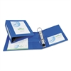 "Framed View Heavy-Duty Binder w/Locking 1-Touch EZD Rings, 3"" Cap, Pacific Blue"