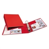"Avery Heavy-Duty Binder with One Touch EZD Rings, 11 x 8 1/2, 2"" Capacity, Red"