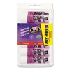 Permanent Glue Stics, Purple Application, .26 oz, 18/Pack