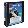 "Avery Heavy-Duty View Binder w/Locking 1-Touch EZD Rings, 3"" Cap, Black"