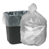 High Density Waste Can Liners, 16gal, 6mic, 24 x 31, Natural, 1000/Carton