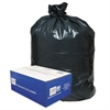 Classic 2-Ply Low-Density Can Liners, 55-60gal, .9mil, 38 x 58, Black, 100/Carton
