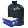 Classic 2-Ply Low-Density Can Liners, 31-33gal, .63 Mil, 33 x 39, Black, 250/Carton
