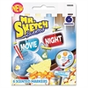 Mr. Sketch Scented Watercolor Marker, Chisel Tip, 6 Movie Night Colors, 6/Set