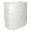 Decor Dinner Napkins, 2-Ply, White, 8 3/8 x 7 3/8, 150/Pk, 3000/Carton