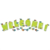 Boho Birds Welcome Bulletin Board Set, 17 Pieces/Kit