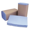 Windshield Towels, 2 Ply, 10 1/4 x 9 1/4, Blue, 168/Pack, 12 Pack/Carton