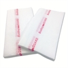 Cascades Busboy Guard Antimicrobial Towels, White/Red, 12 x 24, 1/4 Fold, 150/Carton