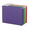 Color Hanging Folders with 1/3-Cut Tabs, 11 Pt. Stock, Assorted Colors, 25/BX
