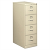 210 Series Four-Drawer, Full-Suspension File, Legal, 28-1/2d, Putty