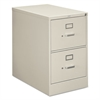 HON 210 Series Two-Drawer, Full-Suspension File, Legal, 28-1/2d, Light Gray