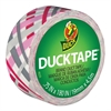 "Duck Ducklings DuckTape, 9 mil, 3/4"" x 180"", Preppy Plaid"