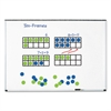 "Learning Resources Giant Magnetic Ten-Frame Set, 12 1/4""L x 5""H, Blue/Green"
