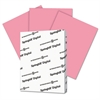 Digital Index Color Card Stock, 90 lb, 8 1/2 x 11, Cherry, 250 Sheets/Pack