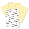Springhill Digital Index Color Card Stock, 110 lb, 8 1/2 x 11, Canary, 250 Sheets/Pack