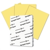 Digital Index Color Card Stock, 110 lb, 8 1/2 x 11, Buff, 250 Sheets/Pack